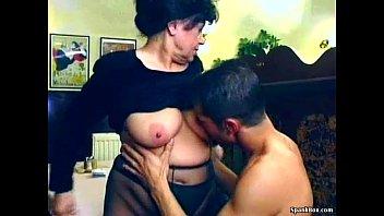 Подборка с крупными грудями